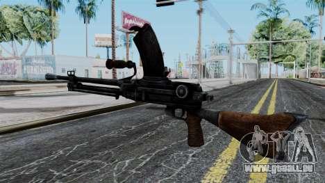 Japan Type 99 LMG from Battlefield 1942 für GTA San Andreas zweiten Screenshot