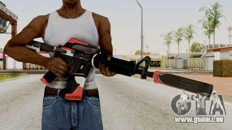 M4A1-S Cyrex pour GTA San Andreas troisième écran