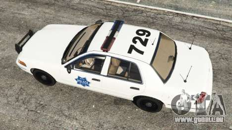 Ford Crown Victoria 1999 Police v0.9 pour GTA 5