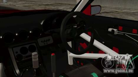 Nissan Silvia Odyvia pour GTA San Andreas vue de droite