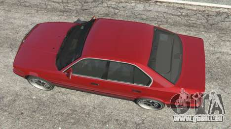 GTA 5 BMW 535i (E34) vue arrière