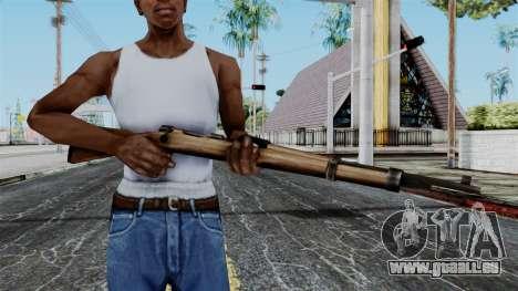 Kar98k from Battlefield 1942 für GTA San Andreas dritten Screenshot