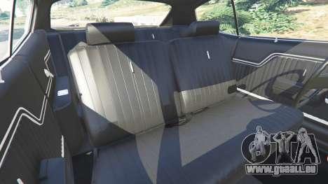 GTA 5 Chevrolet Chevelle SS 1970 v1.0 Lenkrad