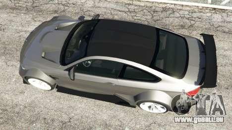 GTA 5 BMW M4 F82 WideBody vue arrière