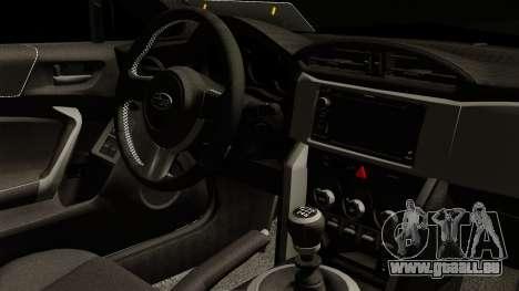 Subaru BRZ 2010 Rocket Bunny v1 pour GTA San Andreas vue de droite