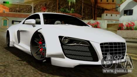 Audi R8 v1.0 Edition Liberty Walk pour GTA San Andreas