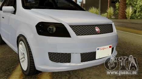 GTA 5 Asea DeClasse v2 IVF für GTA San Andreas Rückansicht