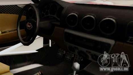 Vapid Bullet GT-GT3 für GTA San Andreas rechten Ansicht
