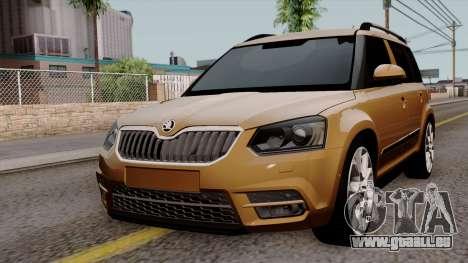 Skoda Yeti 2014 pour GTA San Andreas