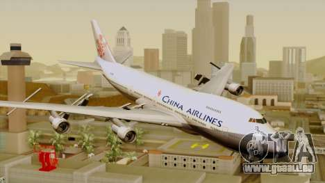 Boeing 747-200 China Airline pour GTA San Andreas