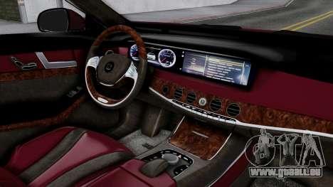 Brabus 850 für GTA San Andreas rechten Ansicht