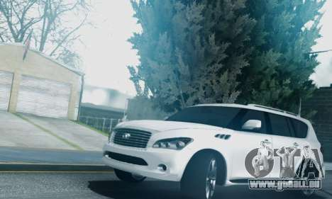 Infiniti QX56 Final für GTA San Andreas