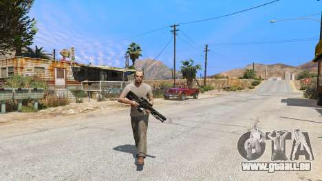 GTA 5 M2014 Gauss Rifle из Crysis 2