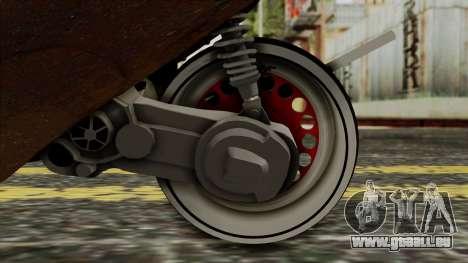 Zip SP Rat Style pour GTA San Andreas vue arrière