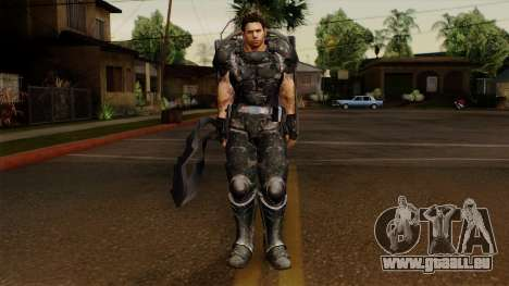 Chris Heavy Metal für GTA San Andreas zweiten Screenshot