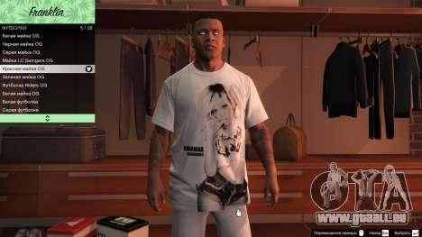 GTA 5 Franklin Hip Hop T-Shirts fünfter Screenshot