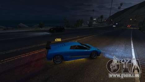 GTA 5 Drift HUD vierten Screenshot