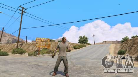 GTA 5 Krummsäbel aus Skyrim zweite Screenshot