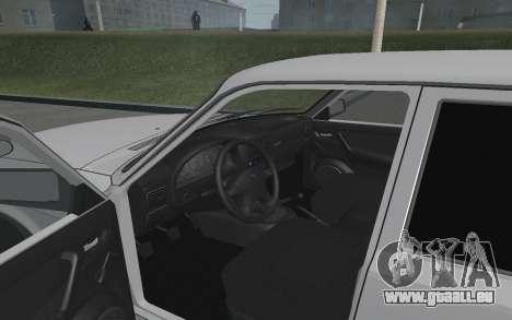 Wolga GAZ 3110 für GTA San Andreas Rückansicht