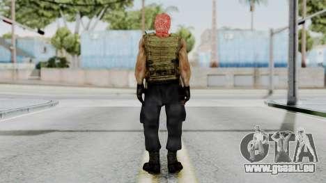 Terrorist pour GTA San Andreas troisième écran