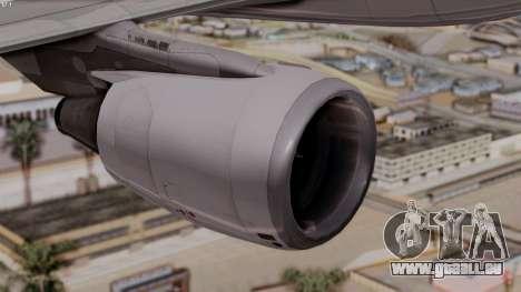Airbus A320-200 Iraqi Airways pour GTA San Andreas vue de droite