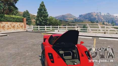 GTA 5 Ferrari Enzo v0.5 droite vue latérale