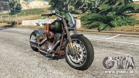 Harley-Davidson Fat Boy Lo Racing Bobber v1.1 für GTA 5