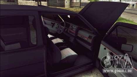 Volkswagen Golf Mk2 Line für GTA San Andreas Innenansicht