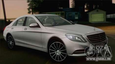 Mercedes-Benz S500 W222 pour GTA San Andreas