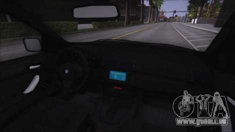 BMW X5 E53 pour GTA San Andreas moteur