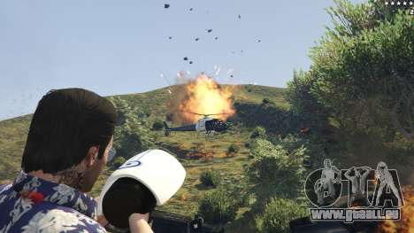 Cinematic Explosion FX 1.12a pour GTA 5