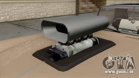 Vapid Peyote Bel-Air für GTA San Andreas Rückansicht