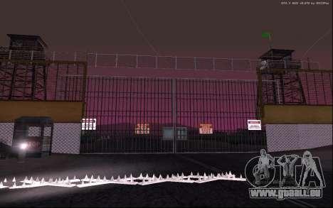 Nouvelle Base Militaire v1.0 pour GTA San Andreas septième écran