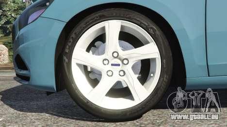 GTA 5 Volvo S60 [Beta] hinten rechts