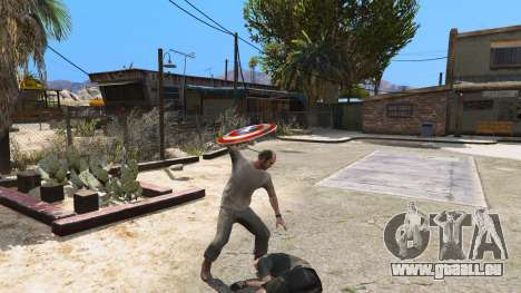 GTA 5 Schild Captain America fünfter Screenshot