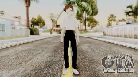 Shinji Ikari (Evangelion) pour GTA San Andreas deuxième écran