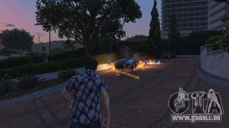 GTA 5 4K Fire Overhaul 2.0 deuxième capture d'écran