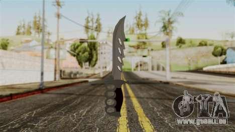 Le couteau pour GTA San Andreas