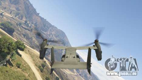 GTA 5 CV-22B Osprey (VTOL) Siebter Screenshot