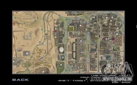 HD-Karte für Diamondrp für GTA San Andreas fünften Screenshot