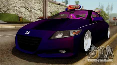 Honda CRZ Hybrid pour GTA San Andreas