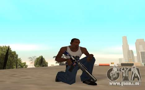 M4 c cub für GTA San Andreas fünften Screenshot