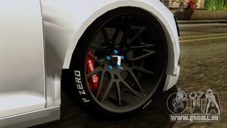 Audi R8 v1.0 Edition Liberty Walk pour GTA San Andreas sur la vue arrière gauche