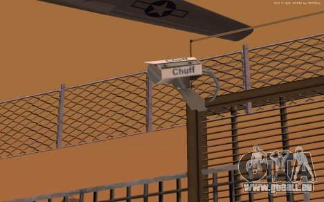 Nouvelle Base Militaire v1.0 pour GTA San Andreas sixième écran