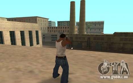 Desert Eagle mit einem tiger cub für GTA San Andreas zweiten Screenshot