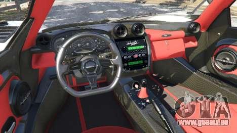 GTA 5 Pagani Zonda Cinque Roadster vorne rechts Seitenansicht