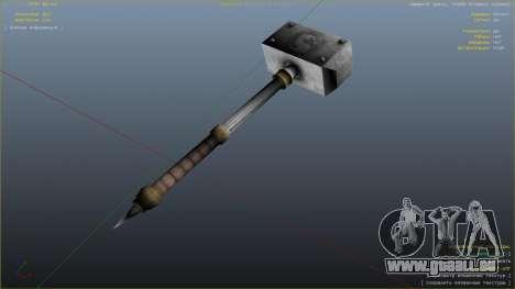 GTA 5 Hammer Shao Kahn aus Mortal Kombat achten Screenshot