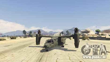 GTA 5 CV-22B Osprey (VTOL)