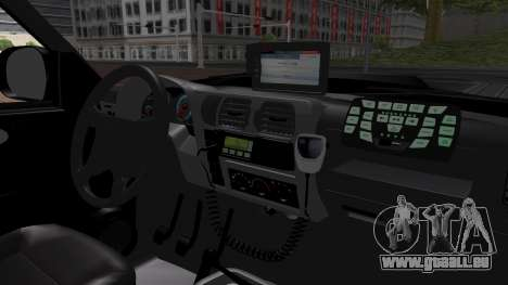 Chevrolet Blazer 2010 für GTA San Andreas Rückansicht