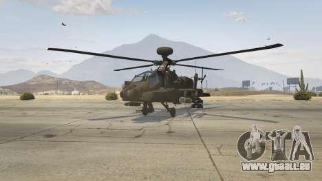 GTA 5 AH-64D Longbow Apache